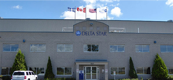 Delta Star's transformer factory located in Saint-Jean-sur-Richelieu